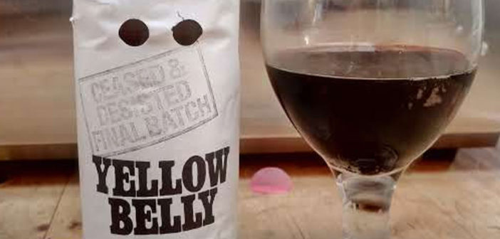 Yellow Belly Imperial Stout