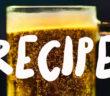 Homebrew beer recipe