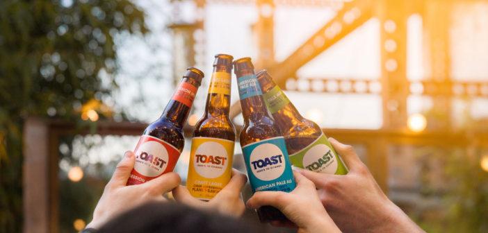 Toast Ale bottles